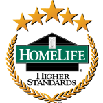 HOMELIFE BENCHMARK REAL ESTATE LOGO JOAN HANSEN